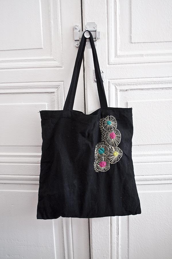 Souvent Broderie – Customiser un sac en toile | Bohemian Society Girl IQ12